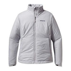 Patagonia Gray Micro Puff Jacket Sz Md